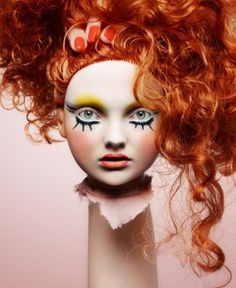 Love 'Dolls' by Carolne Saulnier and Rankin one of my favourite make-up/ photography collabs ever!!!