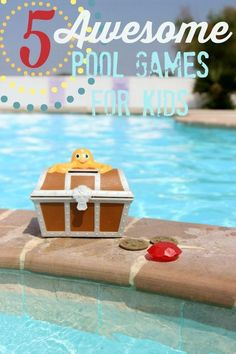 5 awesome pool games for kids! Keep kids busy and active this summer while staying cool too Summer Fun, Summer Ideas