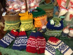 Knitted Marius bags