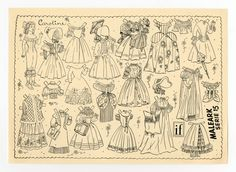 78.6411: Caroline | paper doll | Paper Dolls | Dolls | Online Collections | The Strong