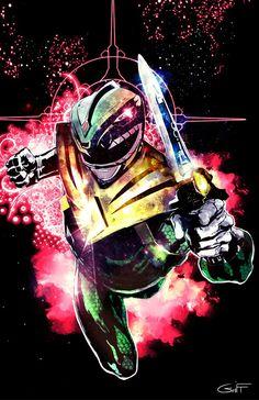 Go Green Ranger Go by James G [Power Rangers]