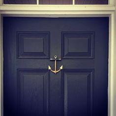 @lucypbrinkley #Regram There\u0027s nothing better than a dark door to really make your door knocker stand out! We especially love the Anchor Door Knocker ⚓ ✊ ... & Bumblebee Door Knocker by Michael Healy Designs | Door Knockers ... Pezcame.Com