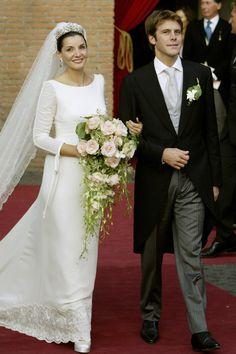Ces robes de mariée des princesses qui nous font rêver