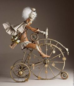 Artwork «Not titled Steampunk Kunst, Steampunk Dolls, Ooak Dolls, Art Dolls, Polymer Clay Dolls, Soft Sculpture, Ball Jointed Dolls, Altered Art, Amazing Art