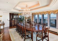 expensive dining rooms | expensive america s newest most expensive pad is on the market for $ ...