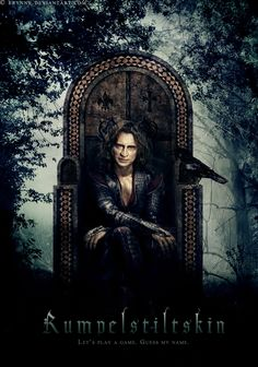 Rumplestiltskin, definitely my favorite character on Once Upon A Time