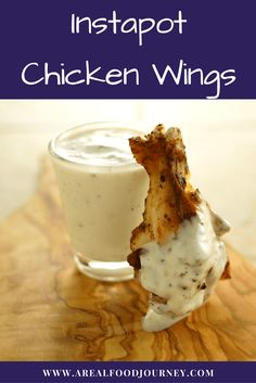 Learn how to make instapot chicken wings. My Instant Pot chicken wings recipe bakes in amazing flavor and is on the table in under 30 minutes