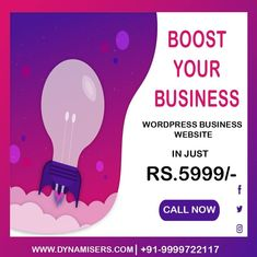 "dynamisers on Instagram: ""Get Wordpress Website  In Just Rs.5999/- . . . . . Call Now:919999722117 Visit:www.dynamisers.com . . #digitalmarketing #instadaily…"""