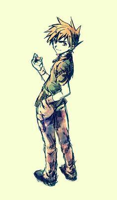 Gary Oak is ready girls! Green Pokemon, All Pokemon, Gary Oak, Pixel Animation, Cute Pokemon Wallpaper, Pokemon Special, Awesome Anime, Pikachu, Old Things