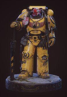 Deathwatch, Imperial Fist, Warhammer 40k Art, Swords And Daggers, Space Marine, Marines, Kitten, Sci Fi, Miniatures