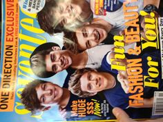 One Direction on Seventeen
