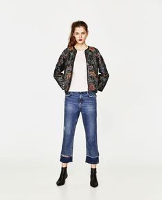ZARA - WOMAN - EMBROIDERED AND SEQUINNED JACKET