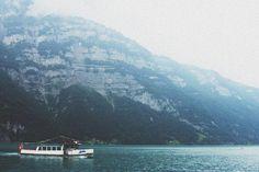 Switzerland, Lake Walensee