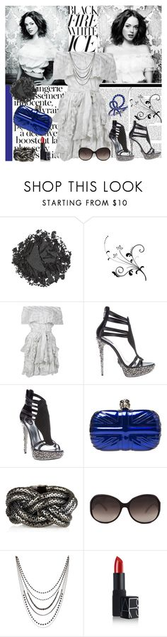 """""""Every Rose Has Its Thorn"""" by dinqa ❤ liked on Polyvore featuring Urban Decay, Paul & Joe, Philipp Plein, Alexander McQueen, Kara by Kara Ross, Vivienne Westwood, NARS Cosmetics and Anna Hu"""