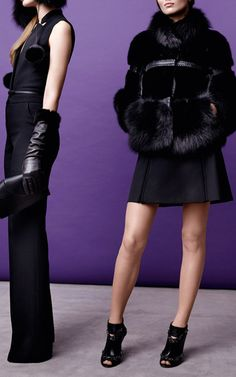 My first love from Elie Saab PF15...Mink And Fox Fur Jacket for Preorder on Moda Operandi