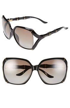 Free shipping and returns on Gucci 58mm Polarized Sunglasses at Nordstrom.com. Open-side frames and sculpted, bamboo-inspired temples lend signature glamour to Italian-crafted sunglasses outfitted with glare-reducing polarized lenses.