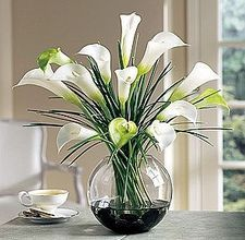 Sheer Wrap - lillies in a vase-6 by VIDA VIDA