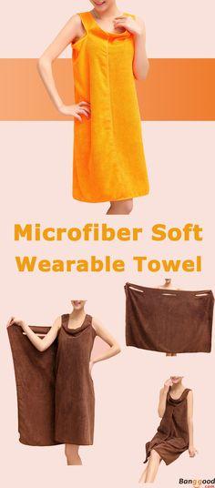 333fd519a4 Honana BX-949 Summer Microfiber Soft Beach Able Wear Spa BathRobe Plush  Highly Absorbent Bath Towel Skirt