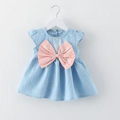 PHB41138 summer 2017 cheap new dress kids wear baby