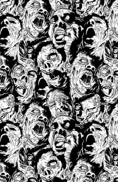 Zombie recurring pattern