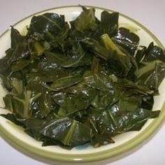 """Tasty Collard Greens 