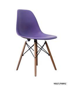 Eames spisebordsstol daw matte design stole m bler for Reproduction chaise dsw