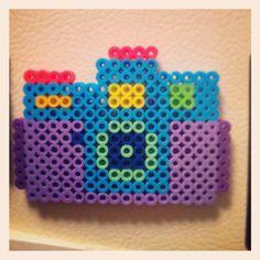 Camera perler bead