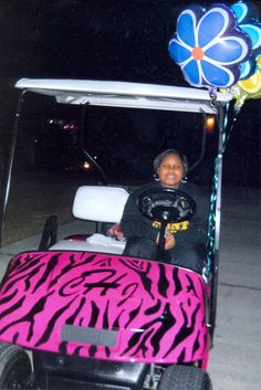 Wish Kid, Carleesia, wished to have her very own customized golf cart.  How cool is that?!