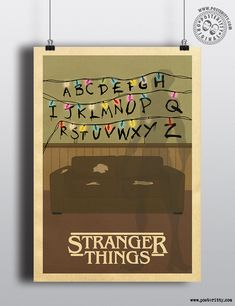 Stranger Things Minimalist Poster by Posteritty #MinimalistPoster…