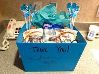 Thank You gift for nurses in labor and delivery
