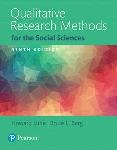 Qualitative Research Methods For The Social Sciences Books A La Carte Edition
