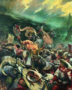 warhammer lizardmen beastmen - Google Search