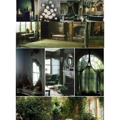 Slytherin Common Room Aesthetic by transparentart on Polyvore featuring polyvore and art