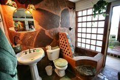 Earthship Bath