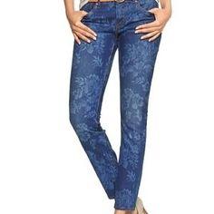 Gap floral jeans <3