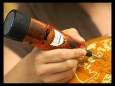 Video tutorial for carving a #pumpkin using a Dremel tool #Halloween