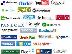 Web2.0に関するあらゆるロゴ