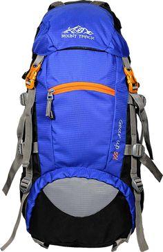 b833b43024 Buy MOUNT TRACK 50 Ltr Neon Blue-Black Rucksacks from Amazon. Hiking Bags