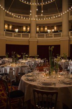 Table setup Renaissance Wedding at the #Koepelkerk Say I do at Renaissance Hotel Amsterdam.