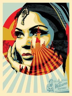 Giclee Art Prints A 3 Giclee Art Print Poster Shepard Fairey Obey Target Exceptions - Trouva Shepard Fairey Posters, Shepard Fairey Obey, Canvas Art, Canvas Prints, Art Prints, Bd Pop Art, Shepard Fairy, Propaganda Art, Art En Ligne