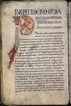 Ms 1509, f. 65v - Dialogues, par la Pape  Grégoire I. #Alphabet