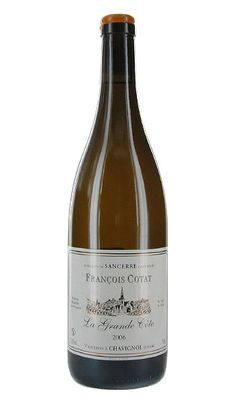 François Cotat Sancerre La Grande Côte Chavignol France $55    I took French and I can't pronounce this.