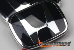 06-11 & 2012 Civic Coupe/Sedan JDM Style Black H Rear Emblem