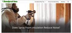 soundproofing spray foam for existing ceiling  does foam board reduce sound  spray on sound insulation  injection foam insulation  spray foam vs rockwool for soundproofing  noise insulation  soundproofing insulation  does soundproofing work Page Navigation