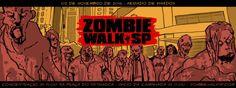 Event / Evento: Zombie Walk SP 2016    Date / Datas / Fechas : 02 de Novembro de 2016   Location / Localização / Lugar: Praça do Patriar...