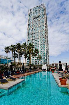 La piscina del Arts / Reflexion of Hotel Arts Barcelona Catalonia