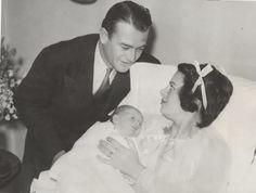 Duke, Josie and first born Michael  born November 23, 1934
