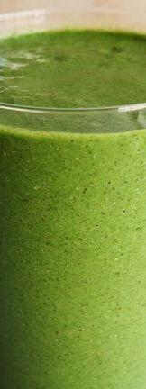 Healthy Green Smoothie — Delish.com Vegetable Smoothie Recipes, Healthy Blender Recipes, Healthy Fruit Smoothies, Yummy Smoothie Recipes, Green Juice Recipes, Healthy Juices, Healthy Fruits, Jelly Recipes, Health Recipes