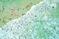 Looking for vacation inspiration? See the world through this photographer's aerial lens. We love Gray Malin's work.