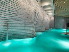thermes de spa, piscine thermale intérieure